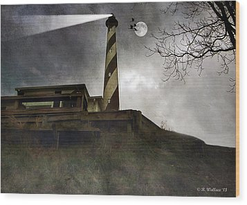 Beacon  Wood Print by Brian Wallace