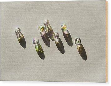 Beads Wood Print by Svetlana Sewell