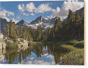 Bear Creek Spire Wood Print