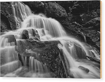 Bearcamp River Cascades- Beede Falls Wood Print