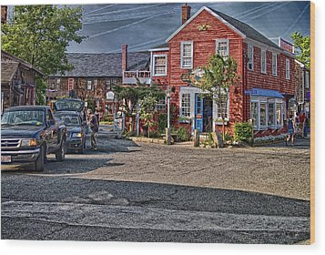 Bearskin Neck Wood Print