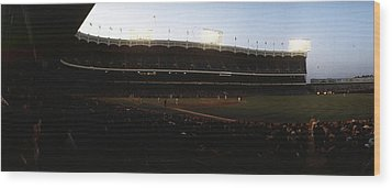 Yankee Stadium Wood Print by Retro Images Archive