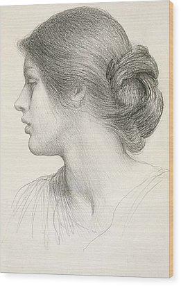 Beatrice Stuart Wood Print by Sir Frank Dicksee