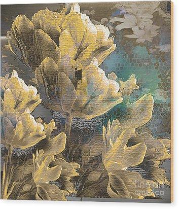 Beau Wood Print by Yanni Theodorou