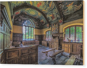 Beautiful 17th Century Chapel Wood Print by Adrian Evans