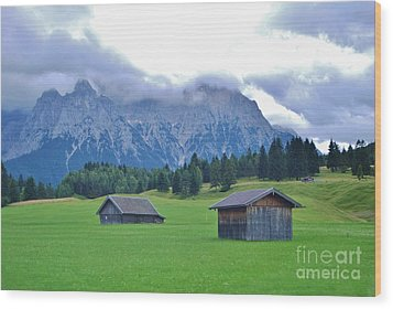 Wood Print featuring the photograph Beautiful Bavaria by William Wyckoff