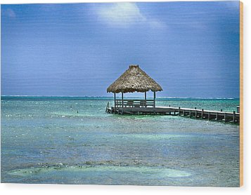 Beautiful Belize Wood Print