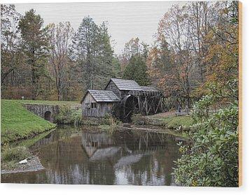 Beautiful Historical Mabry Mill Wood Print