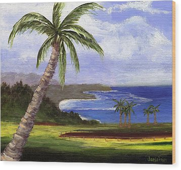 Beautiful Kauai Wood Print by Jamie Frier