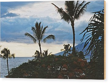 Wood Print featuring the photograph Beautiful Maui Lan 44 by G L Sarti