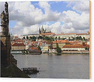 Wood Print featuring the photograph Beautiful Prague by Ira Shander