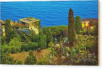 Beautiful Sicily Wood Print by Madeline Ellis