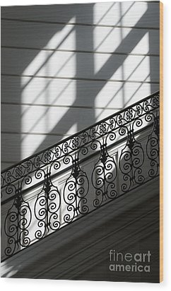 Beautiful Staircase Wood Print