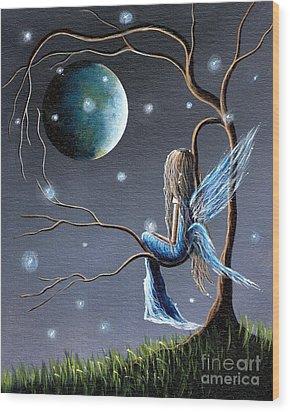 Fairy Art Print - Original Artwork Wood Print