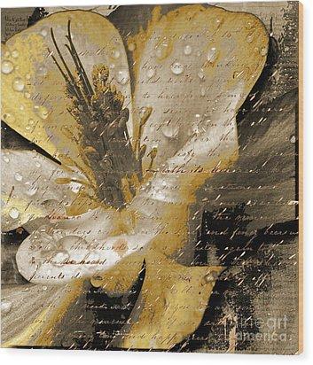 Beautiful Wood Print by Yanni Theodorou