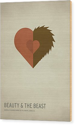 Beauty And The Best Wood Print by Christian Jackson