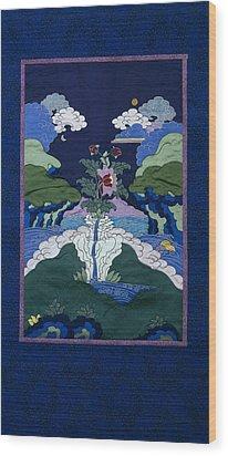 Beauty Wood Print by Leslie Rinchen-Wongmo