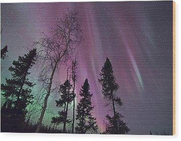 Beauty Of A Night Wood Print