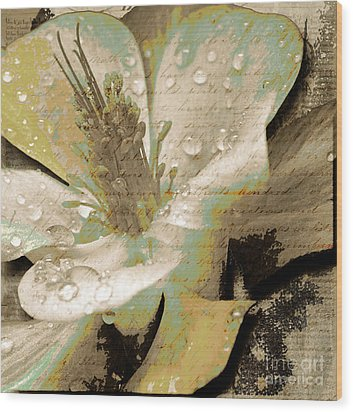 Beauty Vii Wood Print by Yanni Theodorou