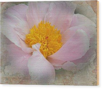 Beauty Woven In Wood Print by Judy Hall-Folde