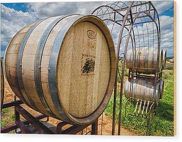 Becker Vineyards Wood Print