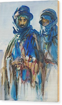 Bedouins Wood Print