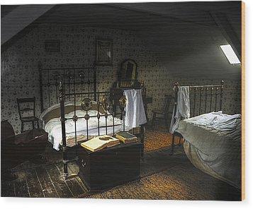 Bedroom Wood Print by Svetlana Sewell