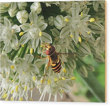 Bee Beautiful Wood Print