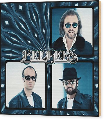 Bee Gees I Wood Print