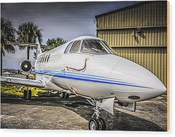 Beechcraft 900xp Wood Print by Chris Smith