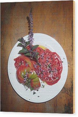 Beefsteak Wood Print