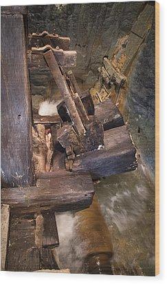 Beetling Engine Wood Print by Akos Kozari