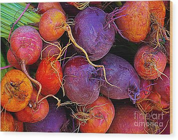 Beets Me  Wood Print by John S