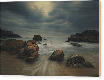 Wood Print featuring the photograph Before The Storm by Afrison Ma