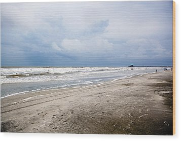 Wood Print featuring the photograph Before The Storm by Sennie Pierson