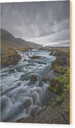 Behind The Rain Wood Print by Jon Glaser