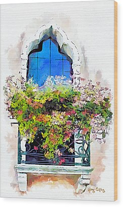 Bei Fiori Wood Print by Greg Collins
