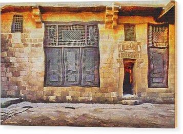 Beit El Harrawi Wood Print by George Rossidis