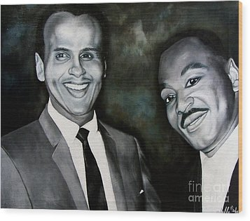 Belafonte And King Wood Print by Chelle Brantley