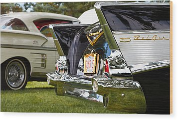 Belair Tail Fins  2 Wood Print