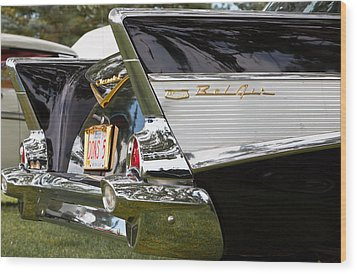 Belair Tail Fins  Wood Print