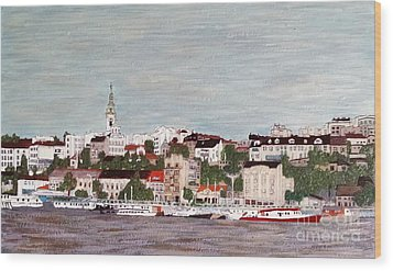 Belgrade Serbia Wood Print by Jasna Gopic