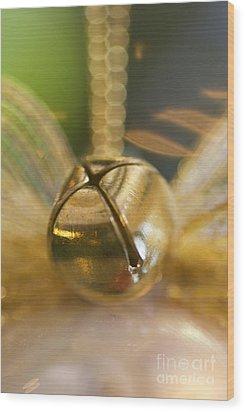 Bell Ornament Wood Print by Birgit Tyrrell