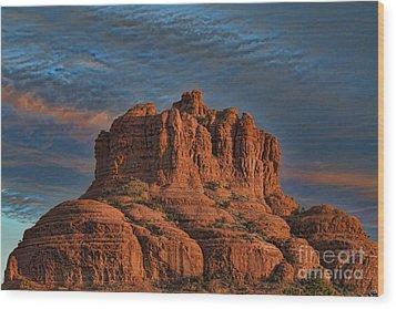 Bell Rock Wood Print