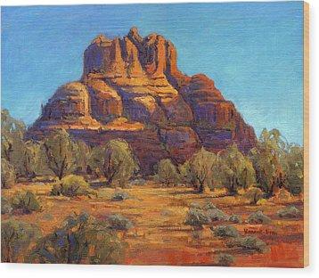 Bell Rock, Sedona Arizona Wood Print