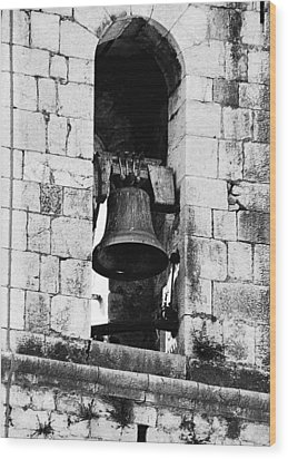Bell Tower Valbonne Abbey Wood Print