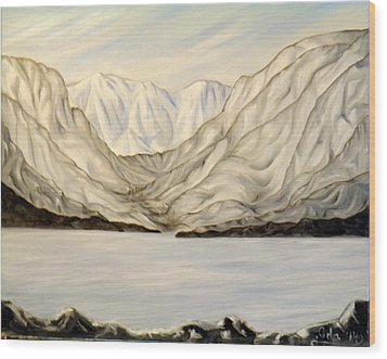 Bella Coola Inlets Wood Print
