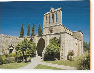 Bellapais Abbey Kyrenia Wood Print