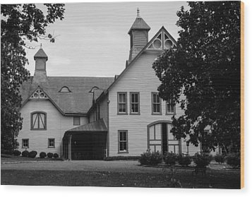Belle Meade Mansion Carriage House Wood Print