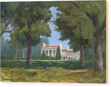 Belle Meade Mansion Nashville Tennessee Wood Print by Tommy Thompson
